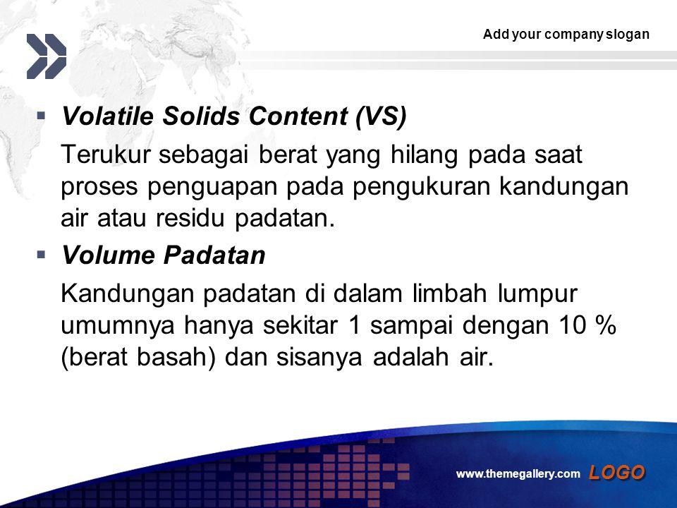Volatile Solids Content (VS)