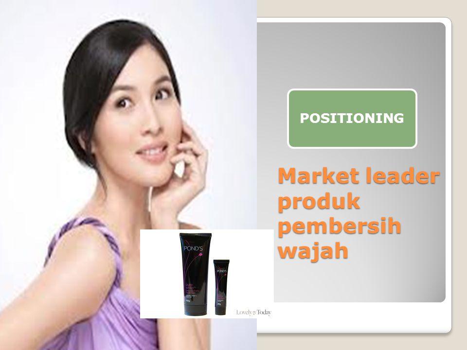 Market leader produk pembersih wajah