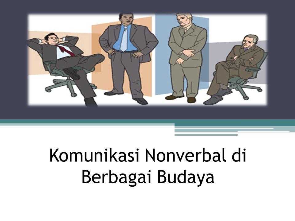 Komunikasi Nonverbal di Berbagai Budaya