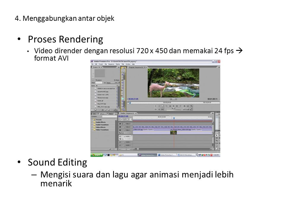 Proses Rendering Sound Editing