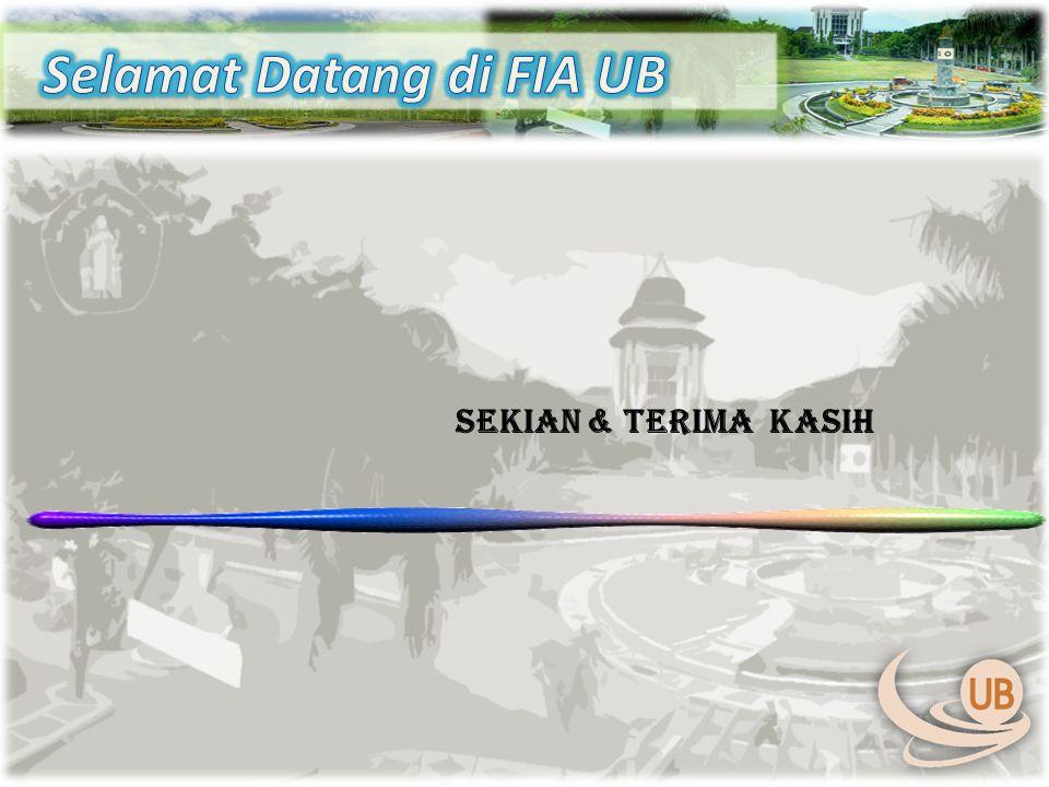 Selamat Datang di FIA UB