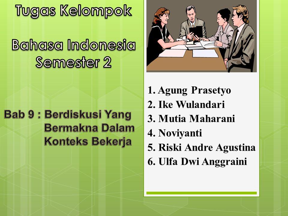 Tugas Kelompok Bahasa Indonesia Semester 2