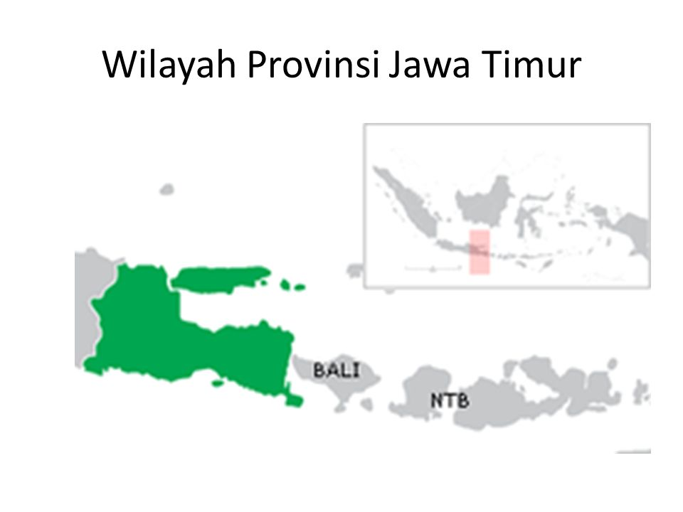Wilayah Provinsi Jawa Timur