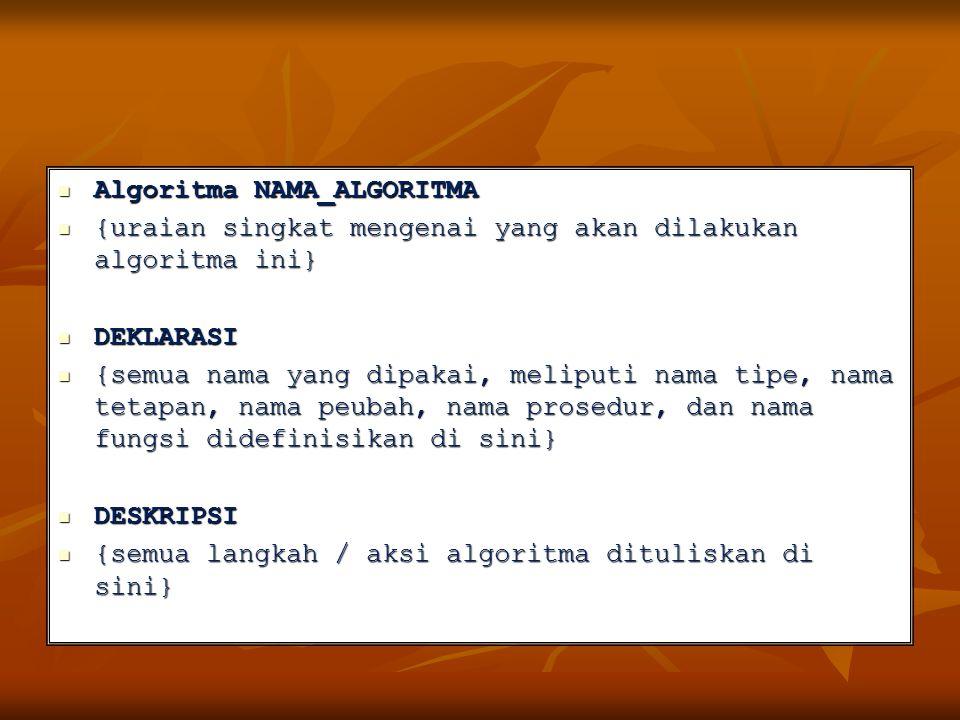 Algoritma NAMA_ALGORITMA