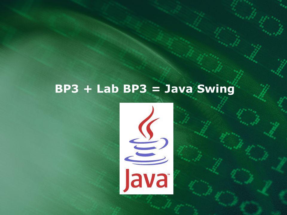 BP3 + Lab BP3 = Java Swing