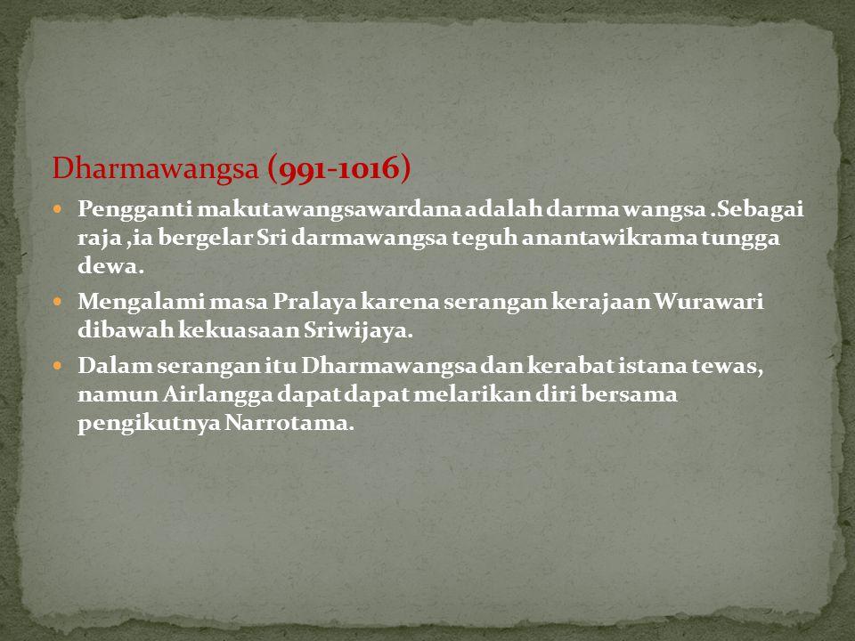 Dharmawangsa (991-1016)