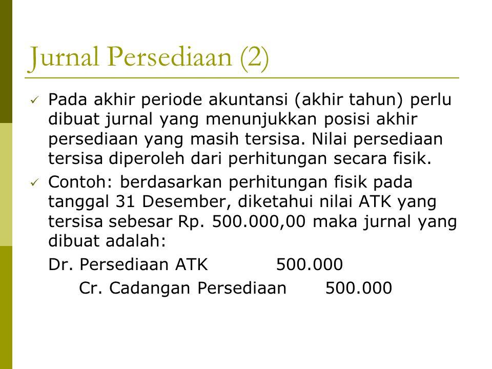 Jurnal Persediaan (2)