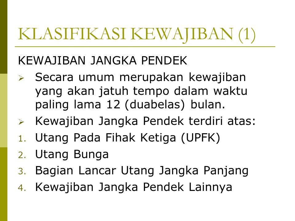 KLASIFIKASI KEWAJIBAN (1)