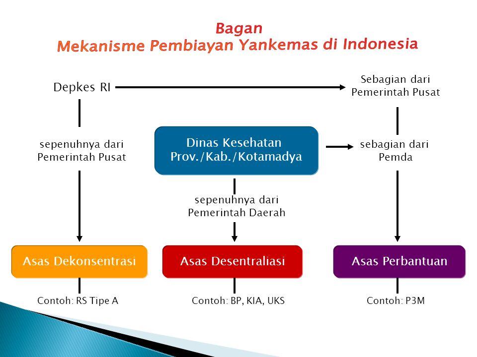 Mekanisme Pembiayan Yankemas di Indonesia