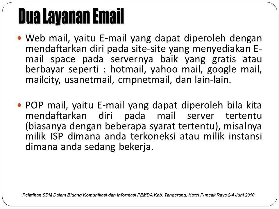 Dua Layanan Email