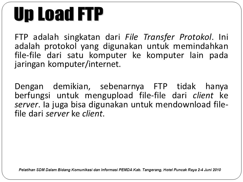Up Load FTP