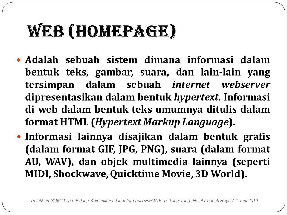 Web (Homepage)