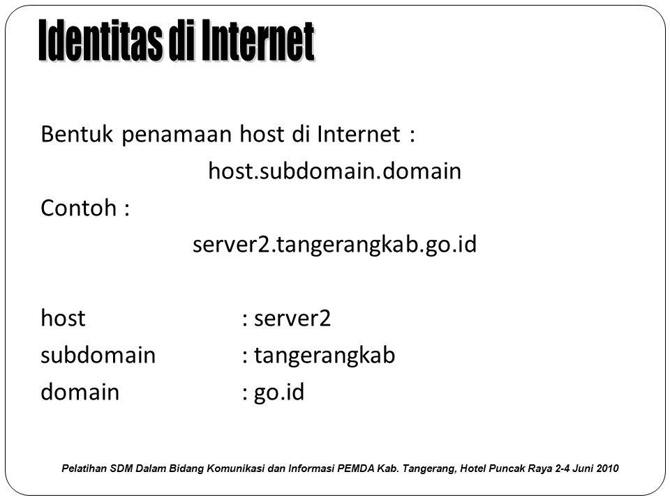 Identitas di Internet