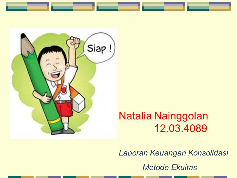 Natalia Nainggolan 12.03.4089 Metode Ekuitas