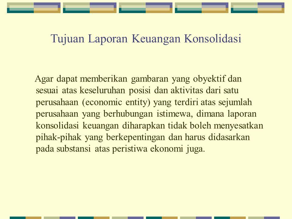 Tujuan Laporan Keuangan Konsolidasi