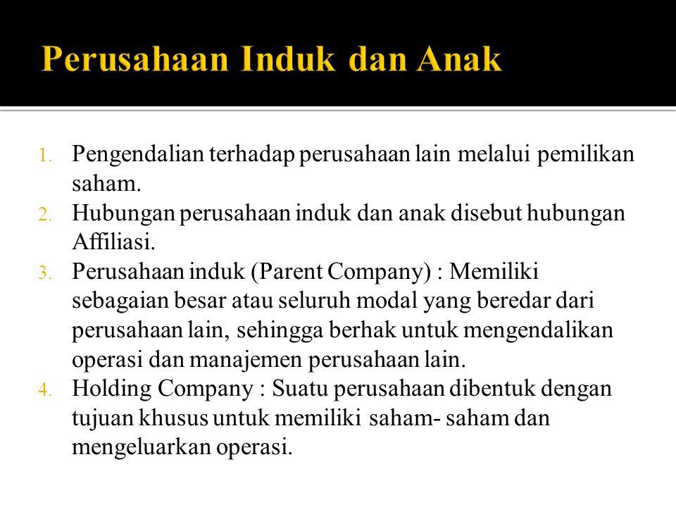 Perusahaan Induk dan Anak