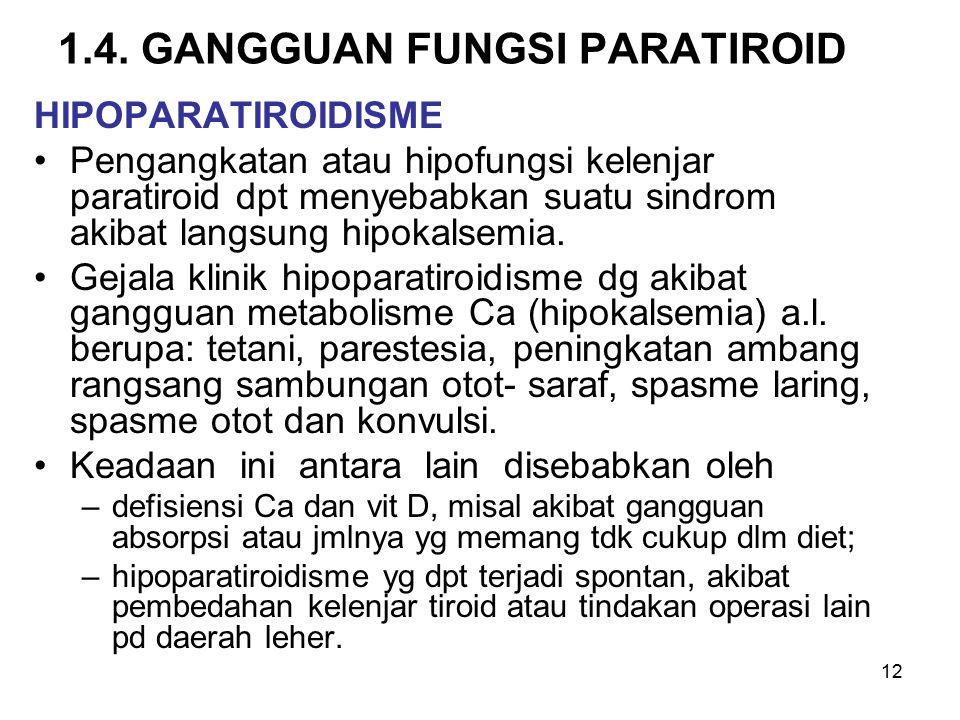 1.4. GANGGUAN FUNGSI PARATIROID
