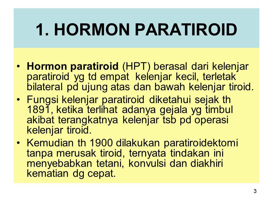 1. HORMON PARATIROID