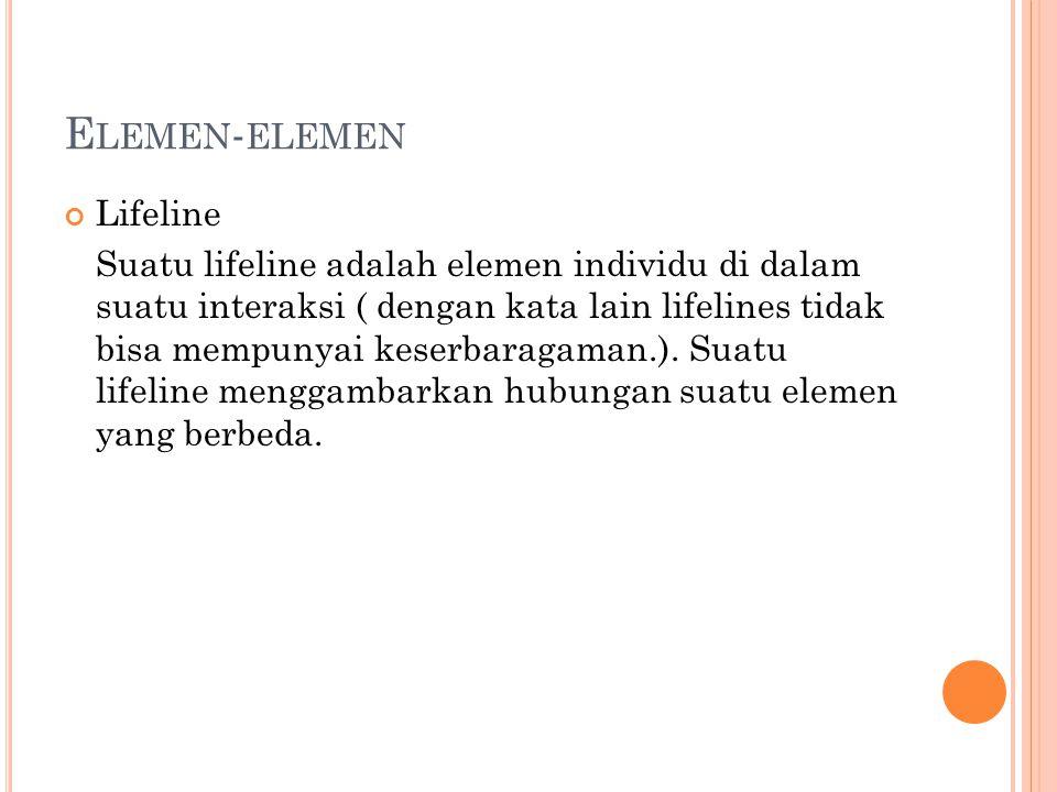 Elemen-elemen Lifeline