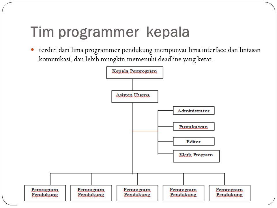Tim programmer kepala