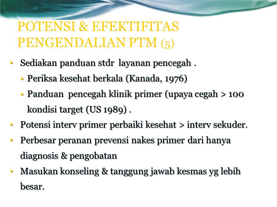 POTENSI & EFEKTIFITAS PENGENDALIAN PTM (5)