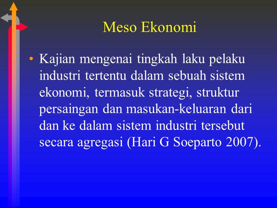 Meso Ekonomi