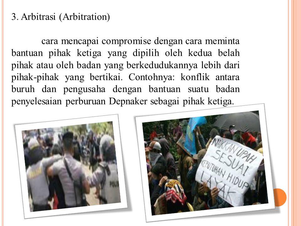 3. Arbitrasi (Arbitration)