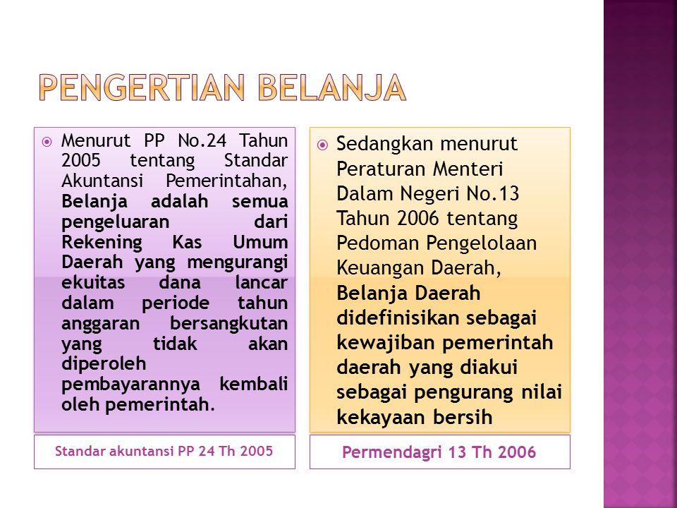 Standar akuntansi PP 24 Th 2005