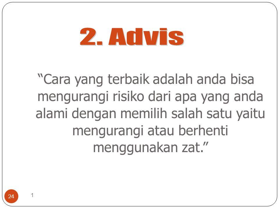 2. Advis