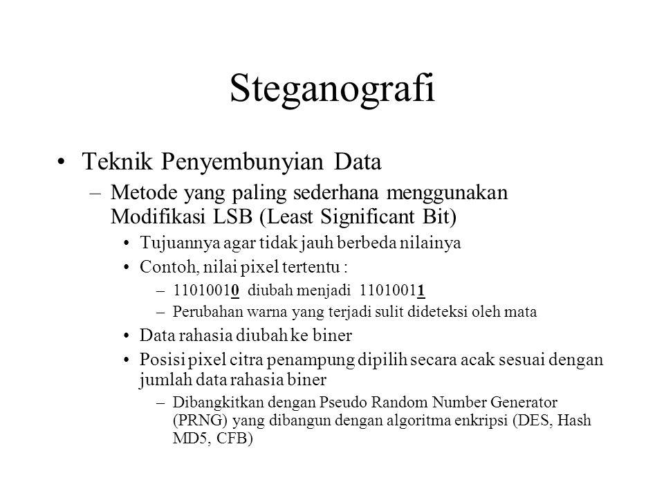Steganografi Teknik Penyembunyian Data