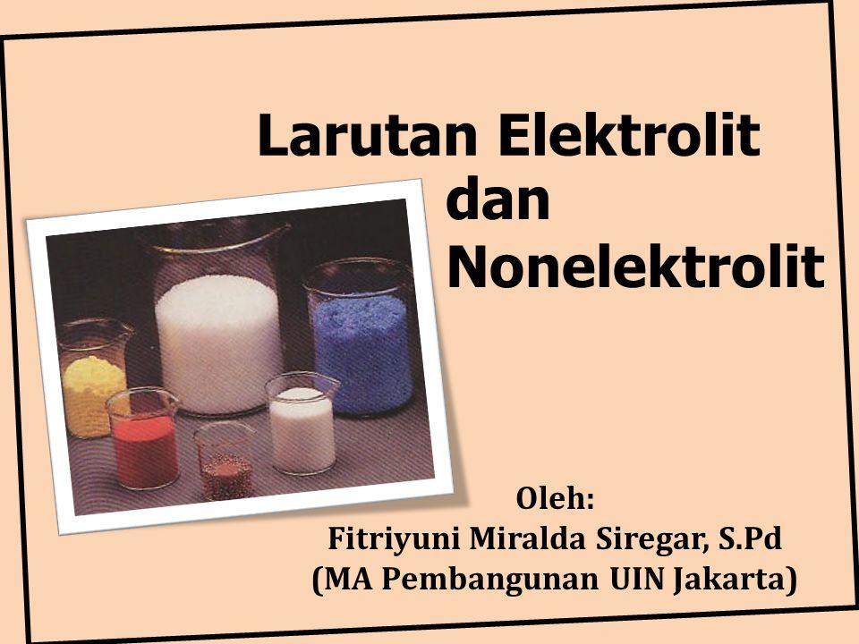 Fitriyuni Miralda Siregar, S.Pd (MA Pembangunan UIN Jakarta)