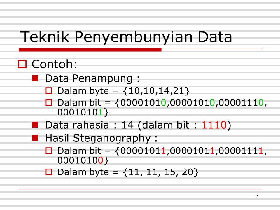 Teknik Penyembunyian Data