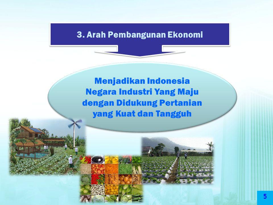 3. Arah Pembangunan Ekonomi