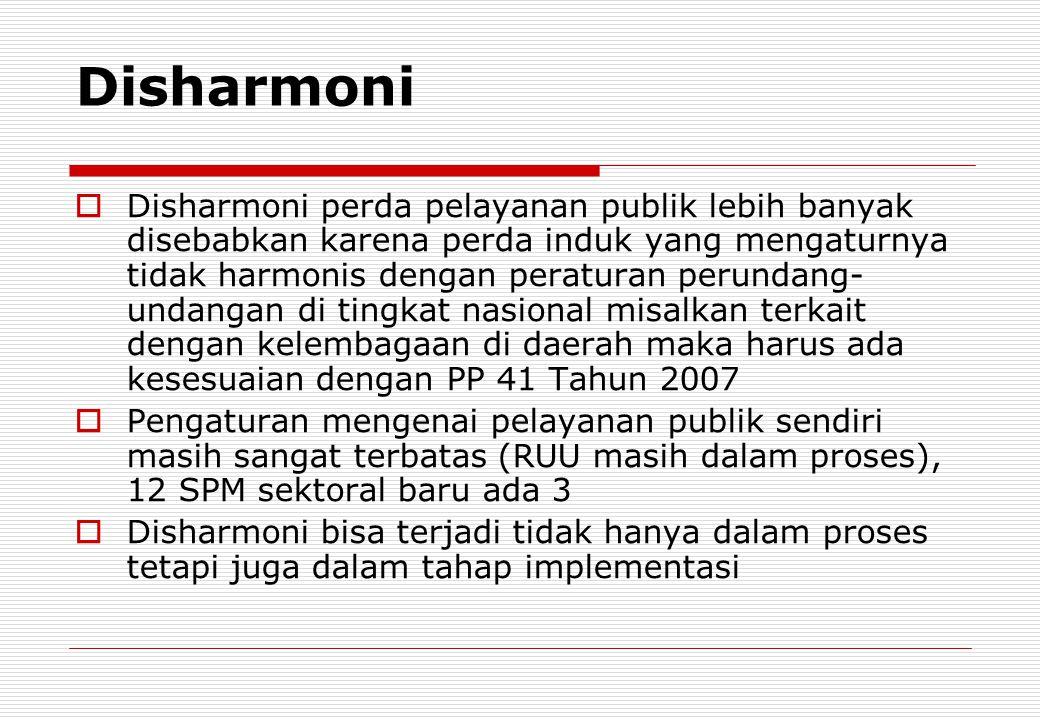 Disharmoni