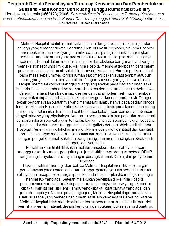 Sumber: http://repository.maranatha.edu/824/ ….. Diunduh 6/4/2012
