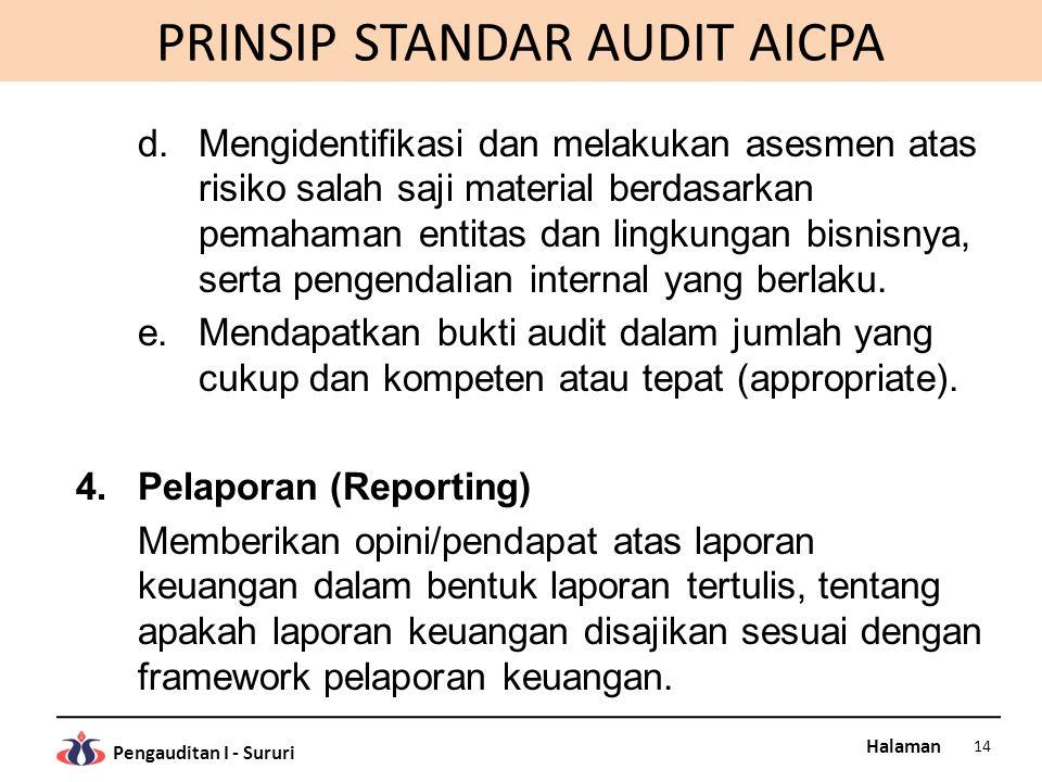 PRINSIP STANDAR AUDIT AICPA