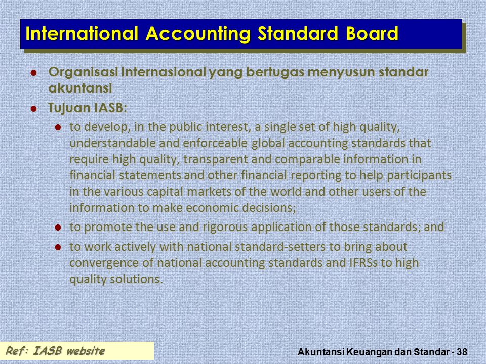 International Accounting Standard Board