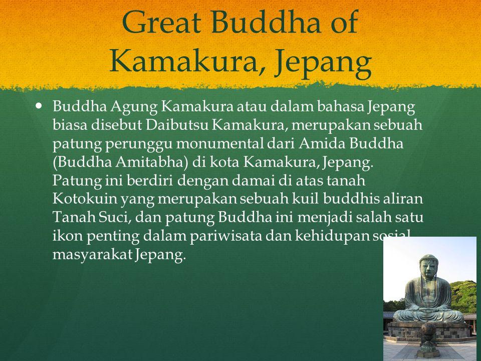 Great Buddha of Kamakura, Jepang