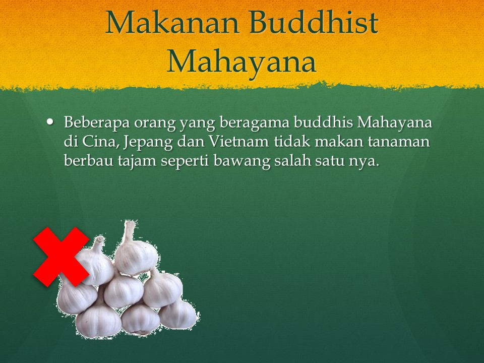 Makanan Buddhist Mahayana