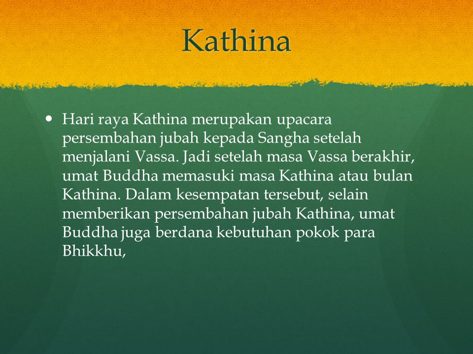 Kathina