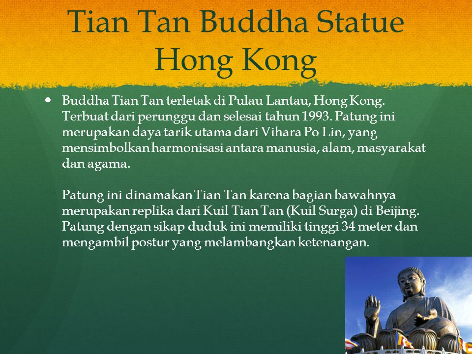 Tian Tan Buddha Statue Hong Kong