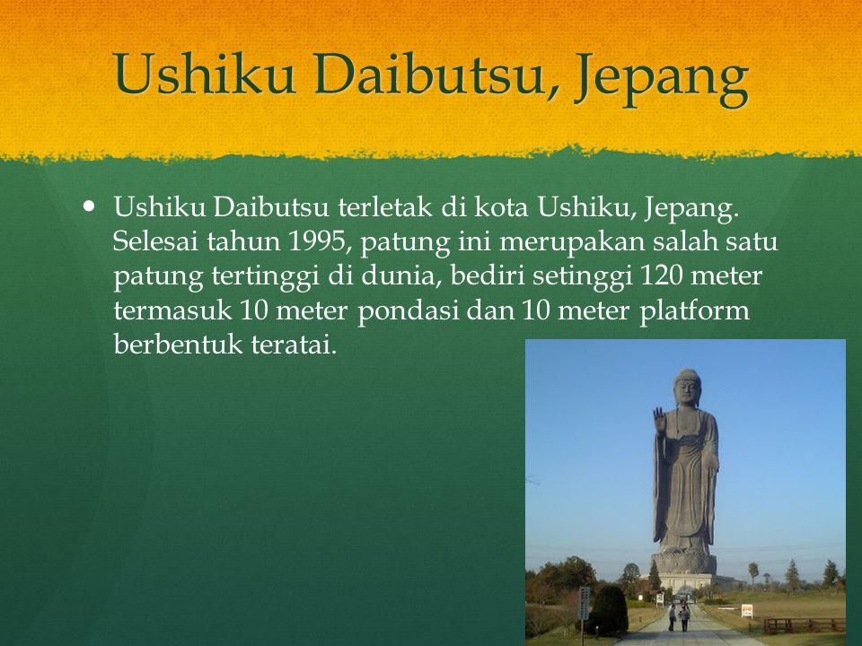 Ushiku Daibutsu, Jepang