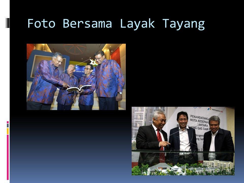 Foto Bersama Layak Tayang