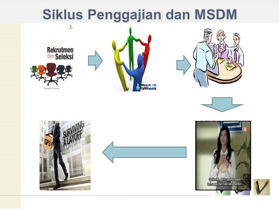 Siklus Penggajian dan MSDM