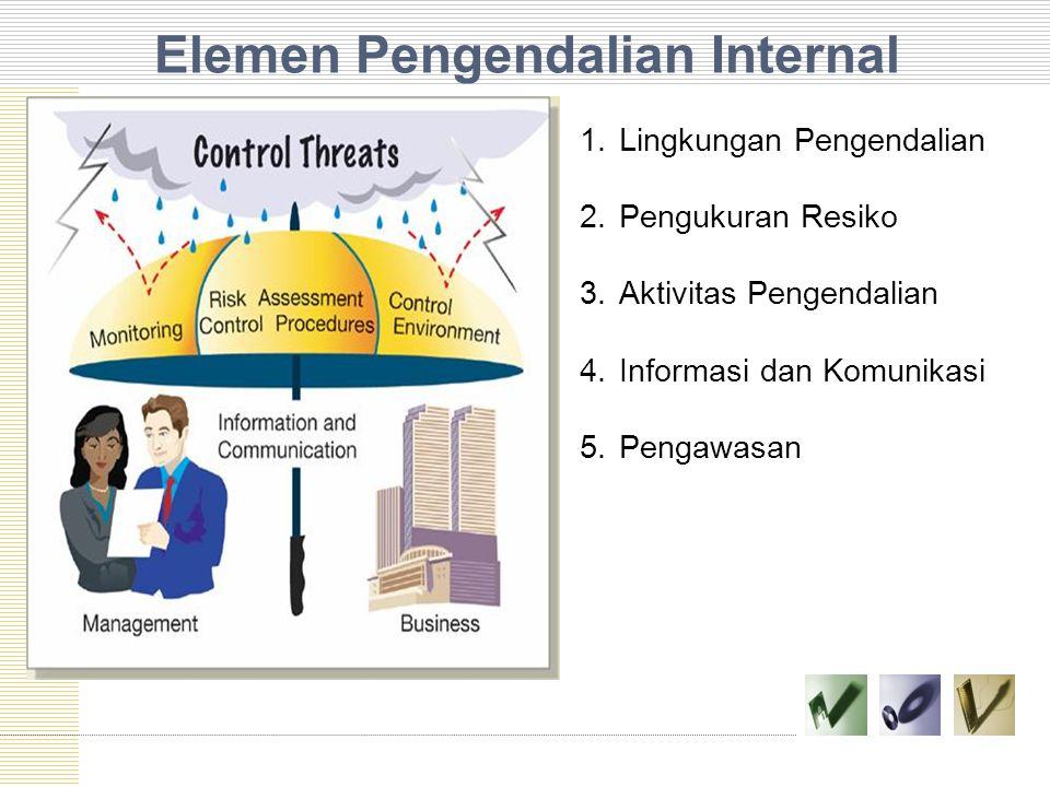 Elemen Pengendalian Internal