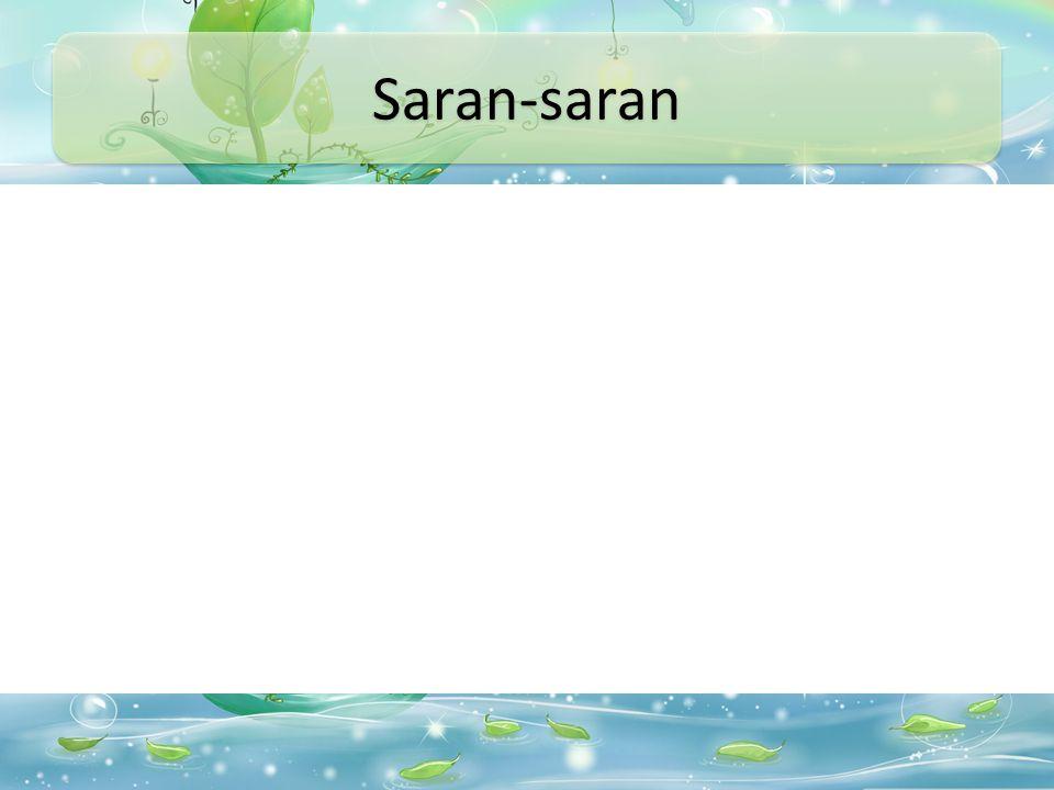 Saran-saran