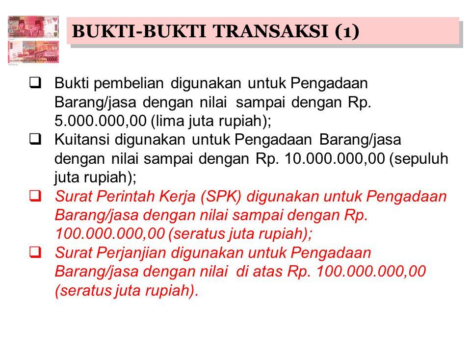 BUKTI-BUKTI TRANSAKSI (1)