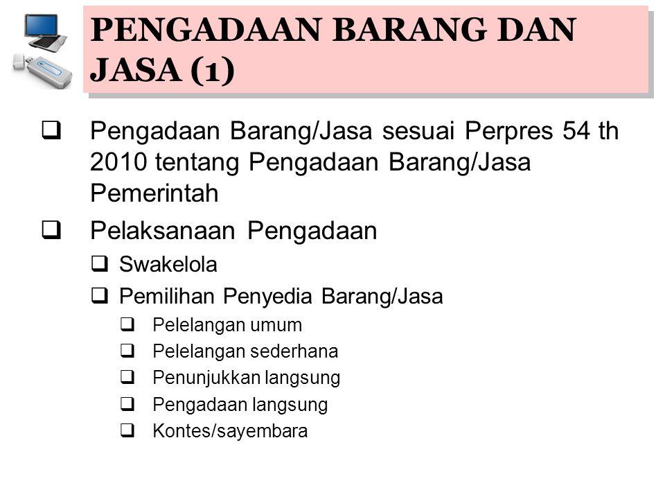 PENGADAAN BARANG DAN JASA (1)