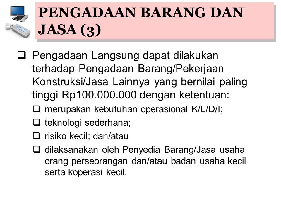 PENGADAAN BARANG DAN JASA (3)