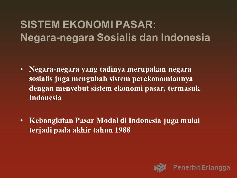 SISTEM EKONOMI PASAR: Negara-negara Sosialis dan Indonesia